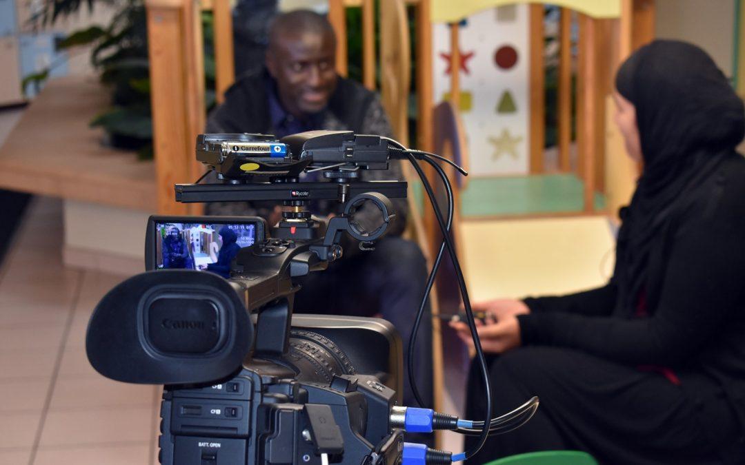 Film-reportage à la crèche «Les Colombes» de Philippe Duval, spécialiste de la petite enfance
