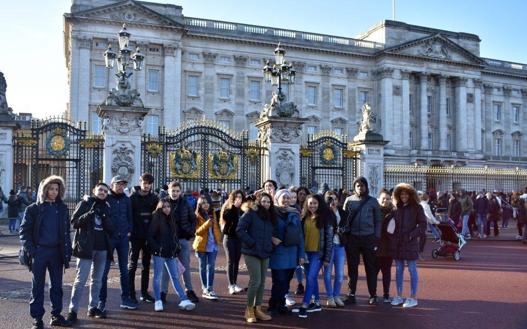 Séjour à Londres du Pôle Jeune de Nouvel Horizon