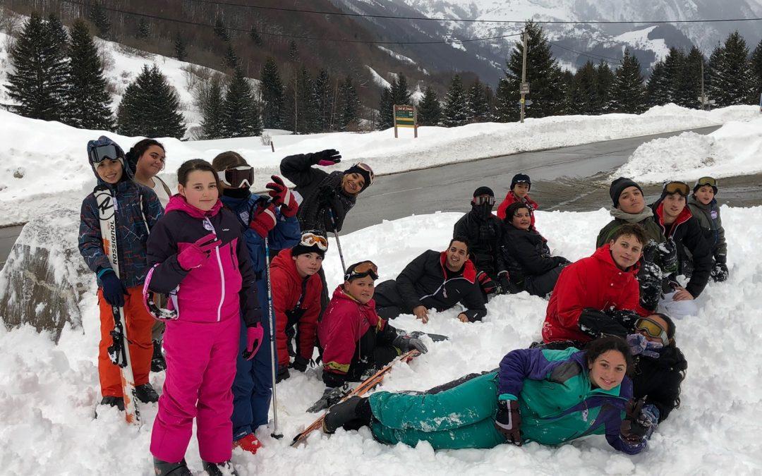 Séjour-ski des pré-ados lors des vacances de Février 2018