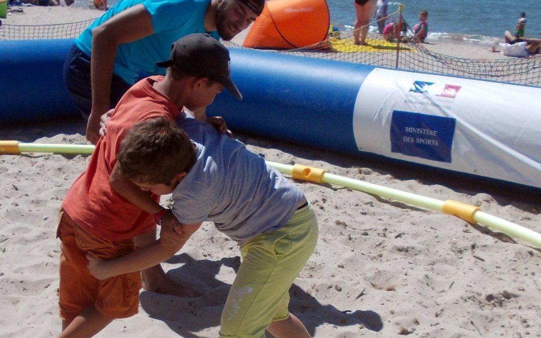 Beach Wrestling au Chalet des Sports des Sablettes