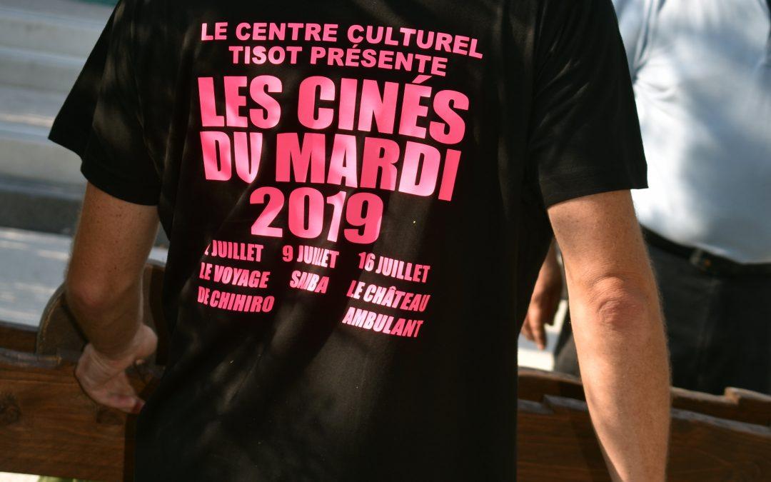 Coup de Projecteur sur les Mardis Ciné de Tisot avec la participation de Nouvel Horizon ce 2 Juillet 2019