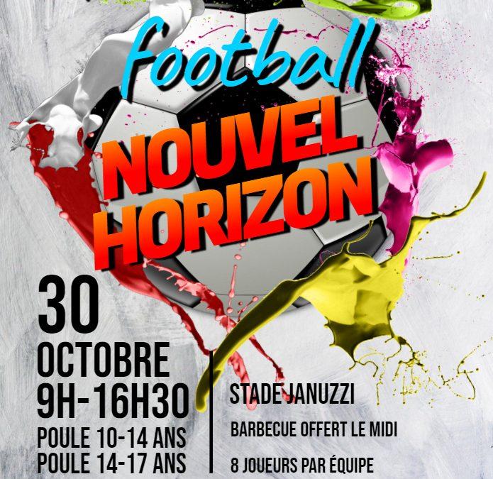 Tournoi de foot organisé par Nouvel Horizon le 30 octobre !