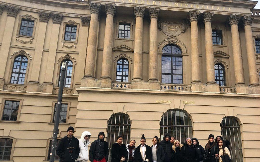 Sur la lancée européenne : Destination Berlin pour les jeunes de Nouvel Horizon